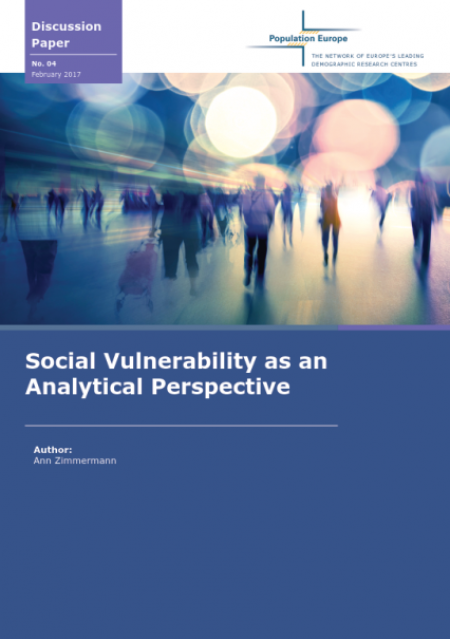 Discussion Paper No. 4: Social Vulnerability as an Analytical Perspective (2017)